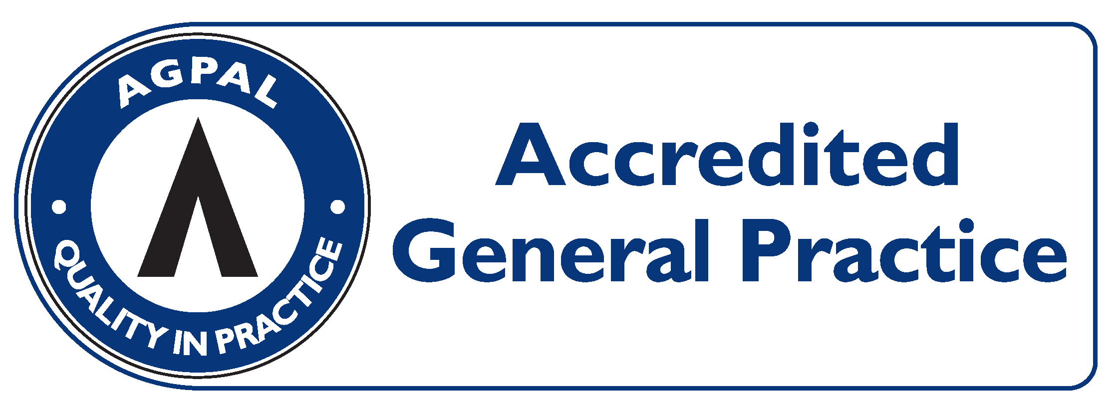 AGPAL – General Practice Accredited Symbol – PNG